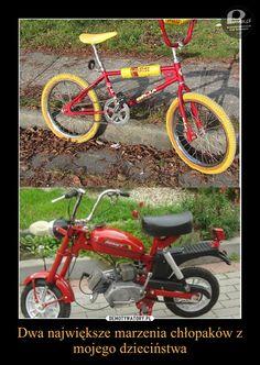BMX i motorynka