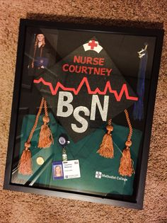 Nursing school shadow box :)