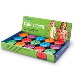 Learning Resources Talk Point Pop: perfect for recording directions for each center station or any time you want students to be able to get their question answered without having to interrupt your small group/ one-on-one instruction Kindergarten Classroom, Future Classroom, School Classroom, Classroom Ideas, Music Classroom, Learning Resources, Teacher Resources, Learning Centers, Classroom Organization