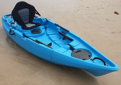 This is a 10ft no compromise folding fishing kayak that fits in your car not on top of it. With its own built in concealed wheels it is easily wheeled around like a suitcase when folded. Its wide, stable, and fast.  With its twin keels aft it has better directional stability than any kayak in its class and glides beautifully in a straight line.