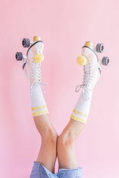 DIY paint your roller skates