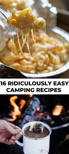 We love camping in our yard and these camping meals make for easy cleanup and easy storage. Toss together a few ingredients in your tin foil packs the day before and food will be ready in no time! #camping #recipes #easy #summer
