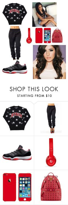 """""""I love to chill lml """" by lala-slim ❤ liked on Polyvore featuring beauty, Beats by Dr. Dre and MCM"""
