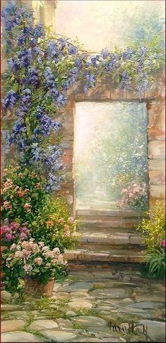 painting by Antonietta Varallo ❦