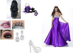 """""""masked ball"""" by lulu-chiquito ❤ liked on Polyvore"""
