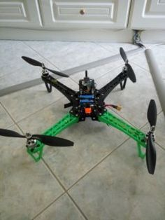 Hellooo,I will show my first quadcopter. Crossfire, Electronics Projects, 3d Printing, Impression 3d