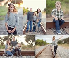 Railroad family pictures