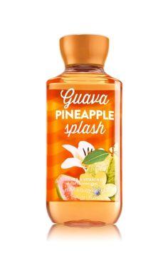 Guava Pineapple Splash Shower Gel - Signature Collection - Bath & Body Works