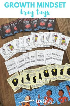 Maintain a positive environment in your elementary school classroom with these fun and well-designed growth mindset brag tags. These brag tags are a great way to positively reinforce behavior in the classroom. They are great for any grade level.