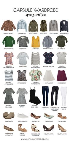 Sample Wardrobe   Spring Edition (Putting Me Together)
