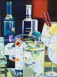 Juegos de luces, 2011, pintura al óleo de José Ramón.