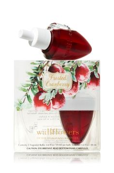 Frosted Cranberry Wallflowers - Bath & Body Works. This scent is mouth-watering, I love it!