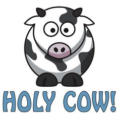 Holy Cow Available @ http://www.redbubble.com/people/oiiii/works/8557024-holy-cow