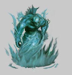 Water Elemental by WorldsOfMagic