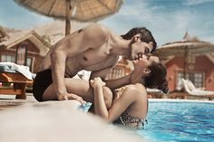Photo about Handsome couple in the swimming pool. Image of love, exercise, person - 16540933 Young Couples, Couples In Love, Swimming Pool Photos, Swimming Pools, Kinds Of People, We The People, Understanding Men, Men Tv, True Relationship
