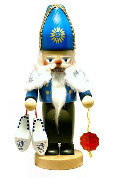 Steinbach SIGNED Chubby Dutch Santa Sinterklaas German Christmas Nutcracker ** Special offer just for you. : Collectible Figurines for Christmas