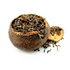 Wanna try something special and still enjoy the traditional Pu-Erh without any artificial flavoring? Try  aged Pu-erh in tangerine peel.