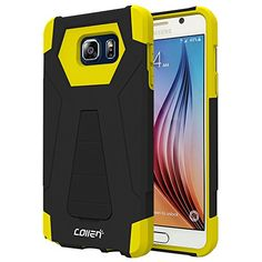 Galaxy Note 5 Case, Collen® [AIR BUFFER CORNOERS] Impact Defender Case [MILITARY GRADE] Armor Case for Galaxy Note 5-Black-Yellow A01 collen http://www.amazon.com/dp/B017VTBZKG/ref=cm_sw_r_pi_dp_G1tAwb1P07Z1M