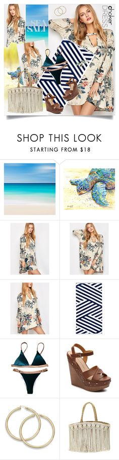 """""""022224807PM"""" by cheesyxshirleyxo ❤ liked on Polyvore featuring Sunnylife, Chinese Laundry, Flora Bella and country"""