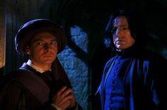 Snape and Quirrel