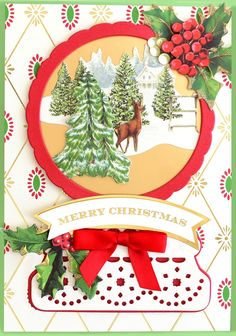 HSN July 14th, 2020 - Product Preview 3 - Anna Griffin Christmas Cards To Make, Xmas Cards, Holiday Cards, Christmas Decorations, Christmas Shadow Boxes, Christmas Snow Globes, Card Making Kits, Anna Griffin Cards, Vintage Christmas