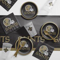 New Orleans Saints Party Supplies #NFL #NFLplayoffs