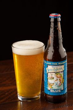 SweetWater Blue - the original breakfast beer. Available year round