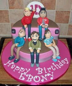 One direction cake by Paramount Cakes, via Flickr