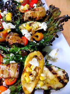 Grelhado salada de couve - Orgulhoso cozinheiro italiano