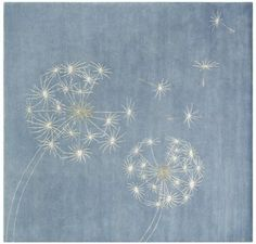 I want these on my little girls wall! dandelion
