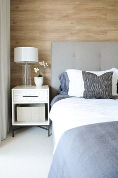 grey tufted headboard Bedroom Scandinavian with gray and white gray tufted headboard