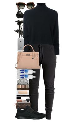 """""""I have a higher and grander standard of principle than George Washington. He could not lie; I can, but I won't."""" by quiche ❤ liked on Polyvore featuring Puma, Louis Vuitton, Urban Decay, Gucci, Le Kasha, NIKE, Luvvitt, Hermès, TOMS and Rolex"""