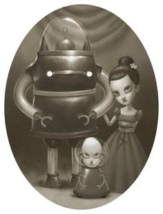 Kai Fine Art is an art website, shows painting and illustration works all over the world. Bizarre Art, Vampire Art, Macabre Art, Goth Art, Creepy Cute, Retro Art, Children's Book Illustration, Surreal Art, State Art