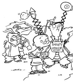 Image result for 90's nickelodeon coloring pages | Cartoon ... | 269x236