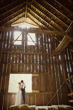barnyard wedding