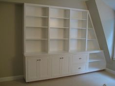 home office builtins   Hand Made Home Office Built-in