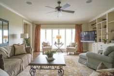 Photo by Med Dement  #livingroom #openspace #windows #bright #airy #plush #chattanooga #cha