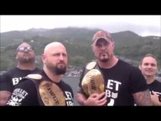 Bullet Club NJPW: GALLOWS & GUN, THE BULLET CLUB ARE COMING TO WAR OF THE WORLDS - #BulletClub #BizCliz