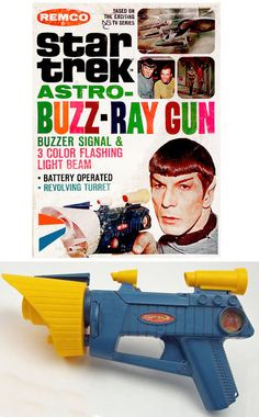 Star Trek Astro-Buzz-Ray Gun!