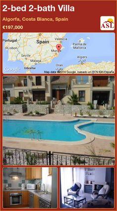 2-bed 2-bath Villa in Algorfa, Costa Blanca, Spain ►€197,000 #PropertyForSaleInSpain