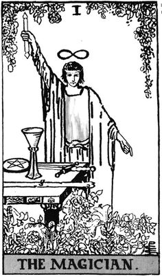 tarot cards images the magician - Google Search