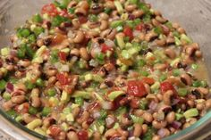 In This Wonderful Life: Texas Caviar - yum, easy, healthy dip for chips/filling for burrito