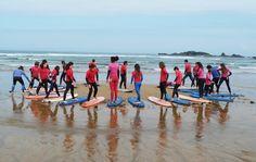 Baluverxa , la Escuela de Surf del Cabo Peñas , empresa Turismo Activo de Asturias