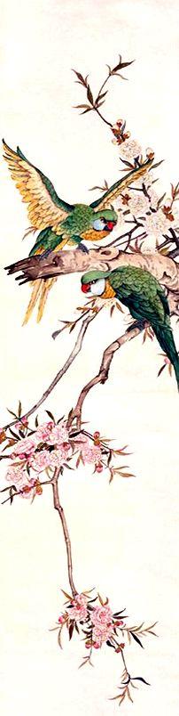 """刘奎龄. 劉奎齡的繪畫藝術大致分為3個階段:第一階段是20年代末至30年代初,研究五代、宋、元諸家,畫風受明、清影響;第二階段為30年代後期,在學習郎世寧畫法基礎上,將西洋畫之色彩、透視比例融合於中國傳統工筆國畫之中,形成自己特有的藝術風格。其作品纖細逼真,神態自然。第三階段是40年代後,畫技又進一步,融勾勒沒骨、皴染為一體,自成一家。與劉子久、陸文鬱、蕭心泉合稱""""津門四老""""。"""