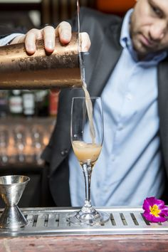 """Sofitel Los Angeles Shares a Fancy Champagne Cocktail Recipe: Leave it to a fancy Beverly Hills hotel to know how to pregame and then adequately fuel Oscars-watching with alcohol. This weekend, we'll be celebrating with Sofitel Los Angeles's """"I Want to Thank the Academy,"""" by mixologist Frédéric Zemmour. 