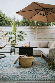 Outdoor Spaces, Outdoor Living, Outdoor Decor, Outdoor Rugs, Outdoor Furniture Sets, Behr, Deck Makeover, Lounge Outfit, My Pool