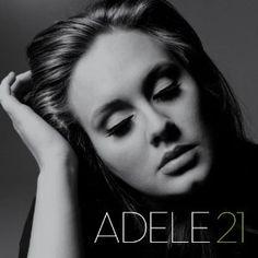 Post sobre o mega-sucesso da cantora Adele, o CD 21, vencedor de vários prêmios Grammy ano passado.