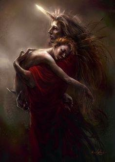 Fantasy Art07 Dark Fantasy Art by Kirsi Salonen