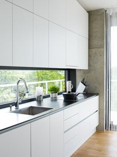 6 Great Tips Contemporary Building South Korea contemporary farmhouse Farmhouse Decor contemporary apartment paint Bathroom Backsplash Granite Kitchen, New Kitchen, Kitchen Dining, Kitchen Decor, Kitchen Backsplash, Kitchen Ideas, Contemporary Building, Contemporary Apartment, Contemporary Decor