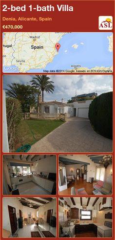 2-bed 1-bath Villa in Denia, Alicante, Spain ►€470,000 #PropertyForSaleInSpain